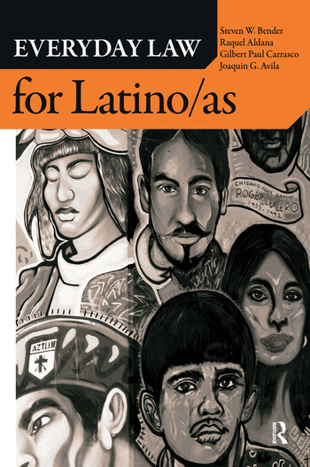 Everyday Law for Latino/as book cover