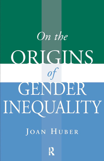 On the Origins of Gender Inequality book cover