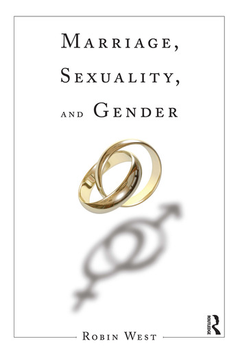 Marriage, Sexuality, and Gender book cover