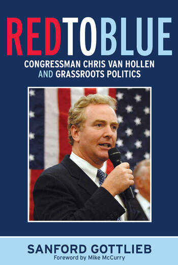 Red to Blue Congressman Chris Van Hollen and Grassroots Politics book cover