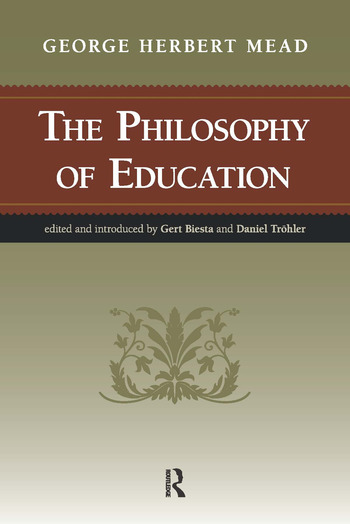 Philosophy of Education book cover