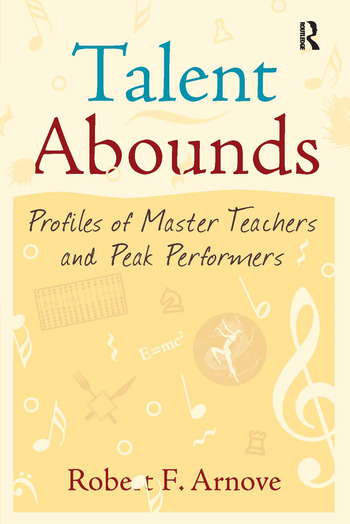 Talent Abounds Profiles of Master Teachers and Peak Performers book cover