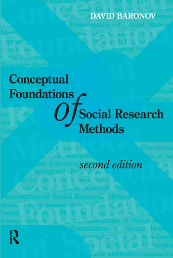 Conceptual Foundations of Social Research Methods book cover