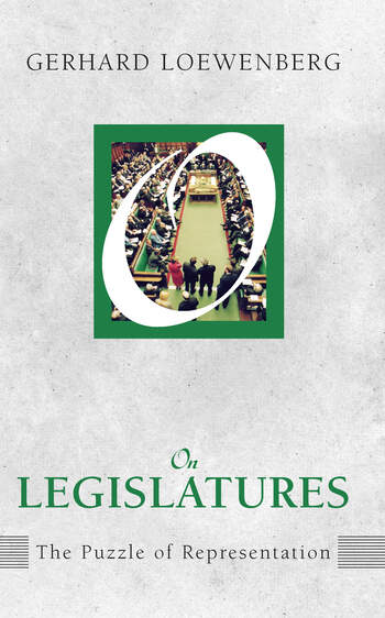 On Legislatures The Puzzle of Representation book cover