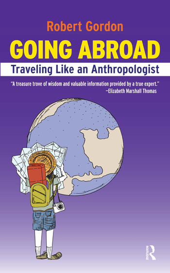 Going Abroad Traveling Like an Anthropologist book cover