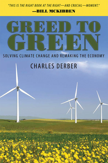 Greed to Green Solving Climate Change and Remaking the Economy book cover