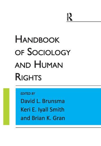 Handbook of Sociology and Human Rights book cover