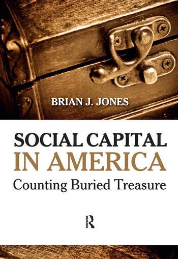 Social Capital in America Counting Buried Treasure book cover