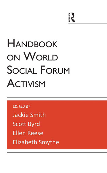 Handbook on World Social Forum Activism book cover
