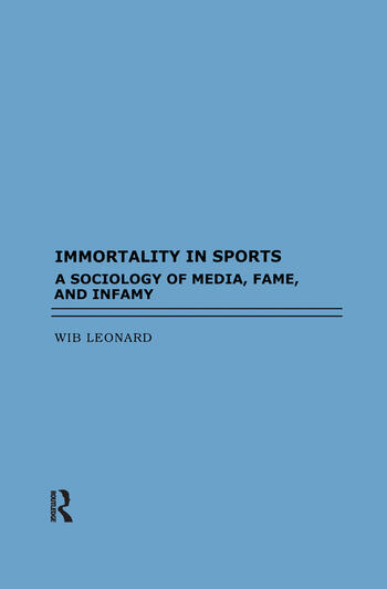 Immortality in Sports book cover