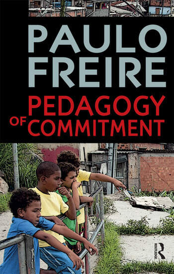 Pedagogy of Commitment book cover