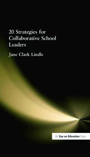 20 Strategies for Collaborative School Leaders book cover