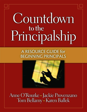 Countdown to the Principalship How Successful Principals Begin Their School Year book cover