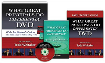 What Great Principals Do Differently DVD and Facilitator's Guide book cover