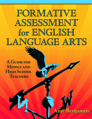Formative Assessment for English Language Arts A Guide for Middle and High School Teachers book cover