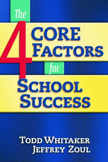 4 CORE Factors for School Success book cover