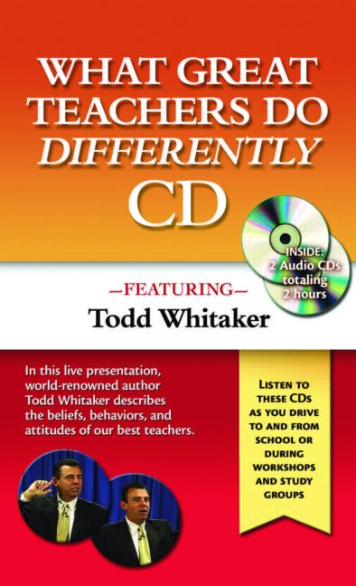 What Great Teachers Do Differently Audio CD book cover