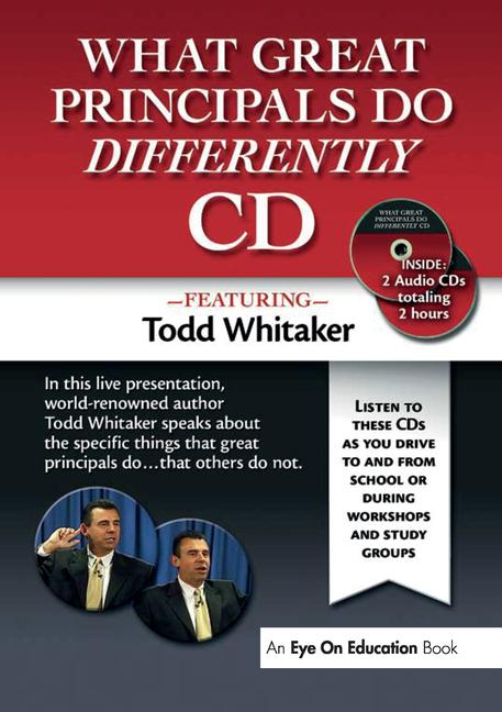 What Great Principals Do Differently Audio CD book cover