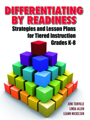 Differentiating By Readiness Strategies and Lesson Plans for Tiered Instruction, Grades K-8 book cover