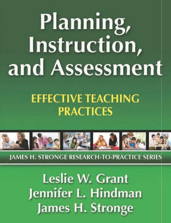 Planning, Instruction, and Assessment Effective Teaching Practices book cover