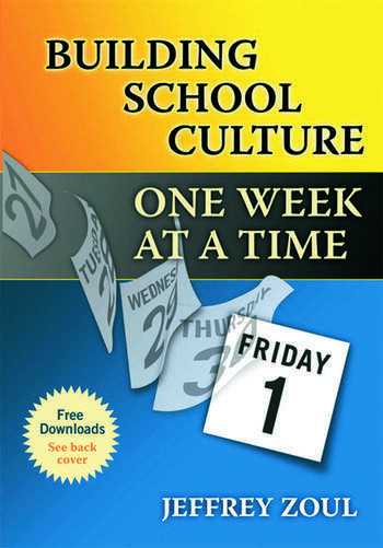 Building School Culture One Week at a Time book cover