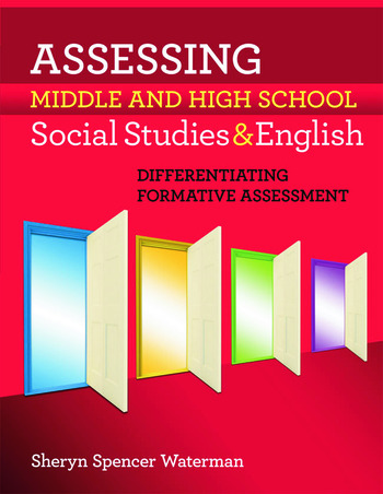 Assessing Middle and High School Social Studies & English Differentiating Formative Assessment book cover