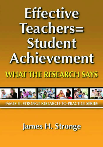 Effective Teachers=Student Achievement What the Research Says book cover