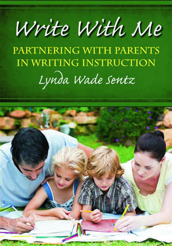 Write With Me Partnering With Parents in Writing Instruction book cover