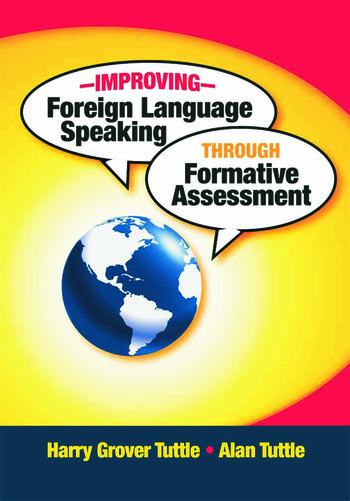 Improving Foreign Language Speaking through Formative Assessment book cover