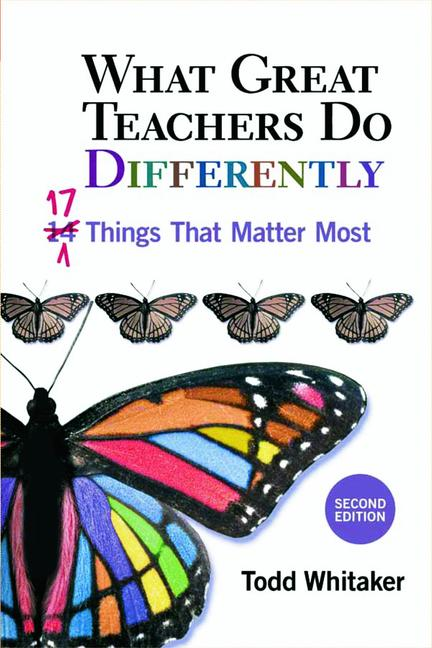 What Great Teachers Do Differently 17 Things That Matter Most book cover