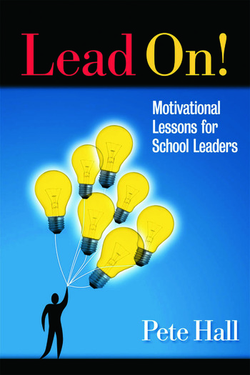 Lead On! Motivational Lessons for School Leaders book cover
