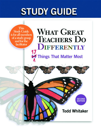 Study Guide: What Great Teachers Do Differently 17 Things That Matter Most book cover