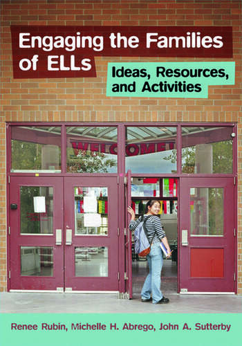 Engaging the Families of ELLs Ideas, Resources, and Activities book cover