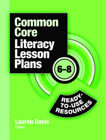 Common Core Literacy Lesson Plans Ready-to-Use Resources, 6-8 book cover