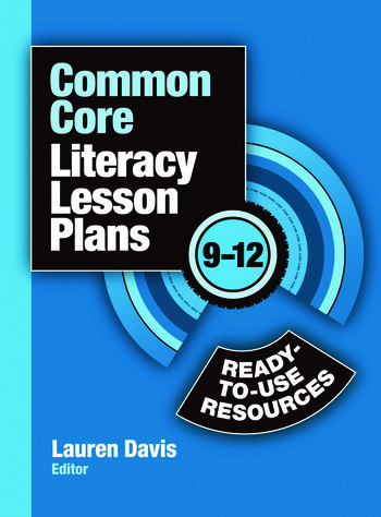 Common Core Literacy Lesson Plans Ready-to-Use Resources, 9-12 book cover