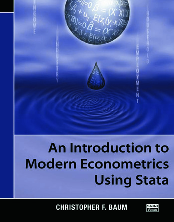 An Introduction to Modern Econometrics Using Stata book cover