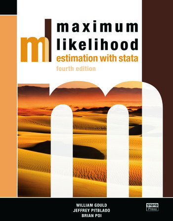 Maximum Likelihood Estimation with Stata, Fourth Edition book cover