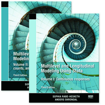 Multilevel and Longitudinal Modeling Using Stata, Volumes I and II, Third Edition book cover