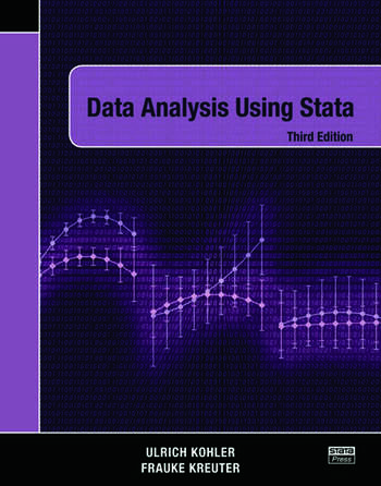 Data Analysis Using Stata, Third Edition book cover