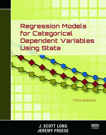 Regression Models for Categorical Dependent Variables Using Stata, Third Edition book cover