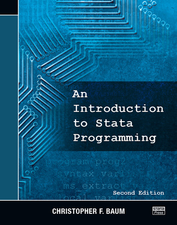 An Introduction to Stata Programming, Second Edition book cover