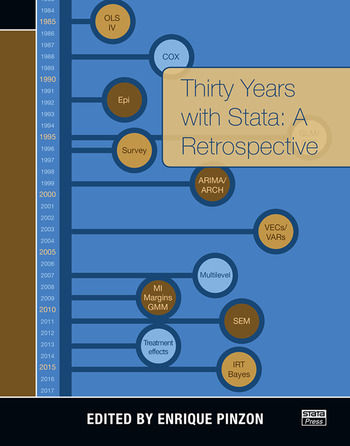 Thirty Years with Stata A Retrospective book cover