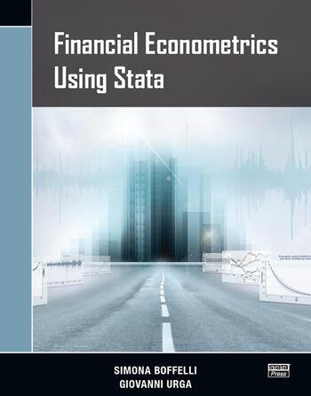 Financial Econometrics Using Stata book cover