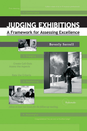 Judging Exhibitions A Framework for Assessing Excellence book cover