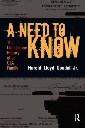 A Need to Know The Clandestine History of a CIA Family book cover