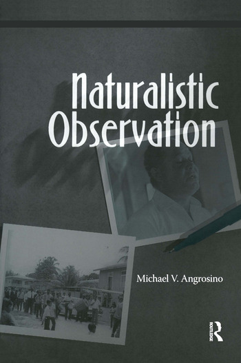 Naturalistic Observation book cover