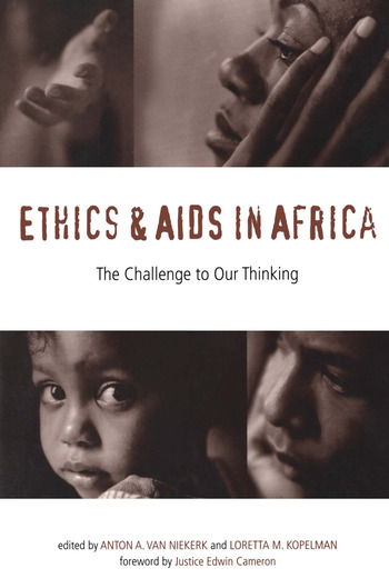 Ethics and AIDS in Africa The Challenge to Our Thinking book cover