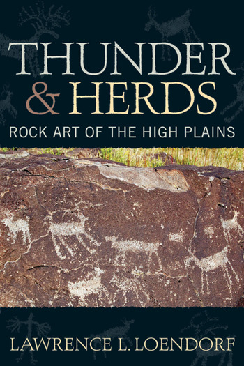 Thunder and Herds Rock Art of the High Plains book cover