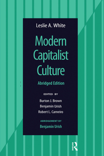Modern Capitalist Culture, Abridged Edition book cover