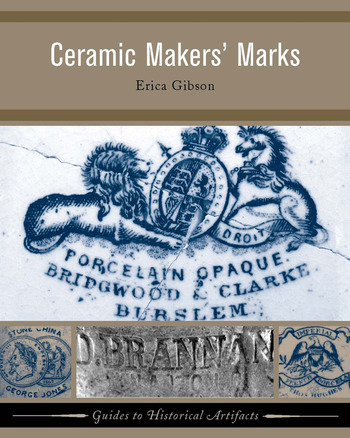 Ceramic Makers' Marks book cover